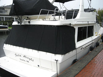 Our Specialty - Boat Tops